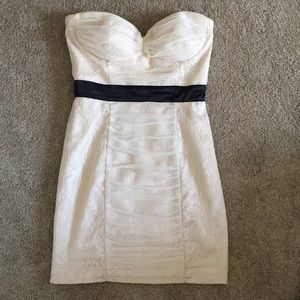 Bebe Strapless Bodycon Dress